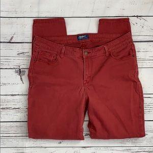 Old Navy Rockstar Mid Rise Skinny Jeans